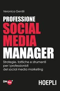Copertina del libro Professione Social Media Manager