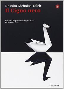Copertina libro cigno nero taleb saggiatore