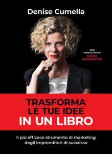 Copertina libro Trasforma le tue idee in un libro