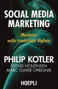 Copertina Social Media Marketing Kotler edito da Hoepli