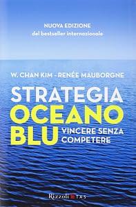 Copertina libro Strategia Oceano Blu