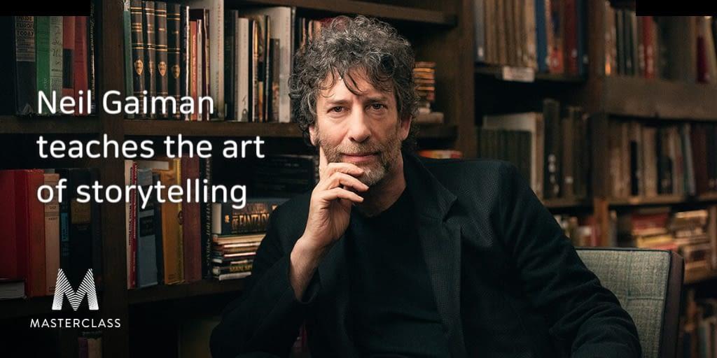 Foto di Neil Gaiman Masterclass