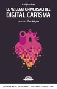 Copertina del libro le 42 leggi universali del digital carisma