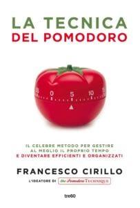 Copertina libro la tecnica del pomodoro